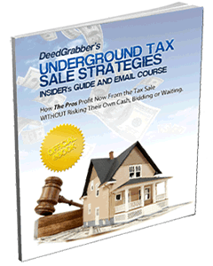 Underground tax sale Strategies