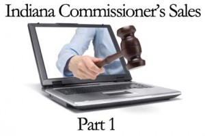 Indiana Commissioners Sales information