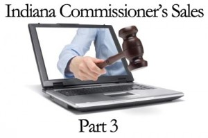 Indiana Commissioners Tax Sales
